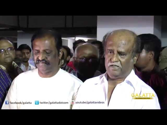 Superster Rajinikanth's Condolences On Director K Balachander's Demise