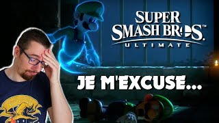 SUPER SMASH BROS ULTIMATE SWITCH : JE M'EXCUSE...