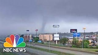 Tornado Devastates Arkansas City, Including Home Of Doctor Treating Patients | NBC Nightly News