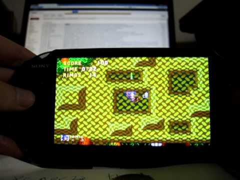 picodrive sega emulator on PS vita