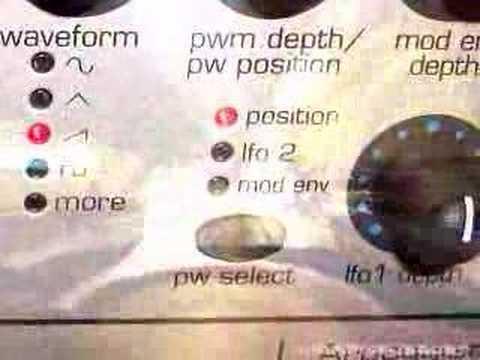 Novation KS Rack Demo Sound Synth Parte I by Davide Solurghi (Morpheus2027)