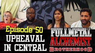 Fullmetal Alchemist: Brotherhood - Episode 50 Upheaval in Central - Group Reaction