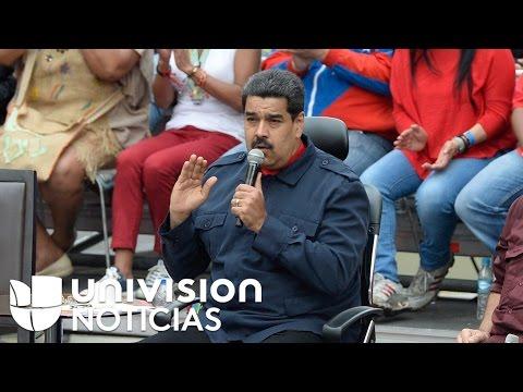 Avanza oposición para remover a Nicolás Maduro