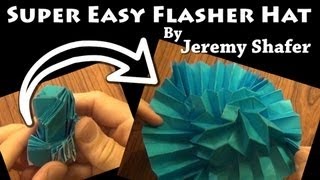 Super Easy Flasher Hat by Jeremy Shafer