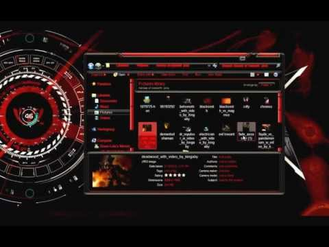 Alienware 3D Theme For Windows 7