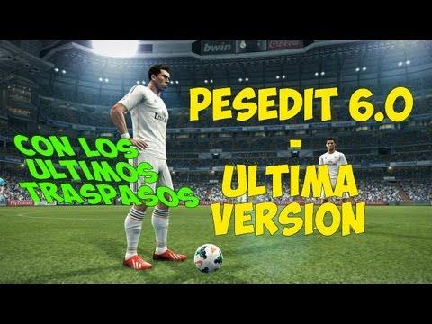PES 2013 - Pesedit 6.0 - Última versión - Tutorial de instalación
