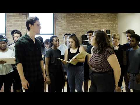 "Rehearsal for ""Without Love"" from HAIRSPRAY at Skylight Music Theatre"