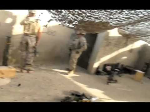 US soldiers take over old Taliban base in Kandahar