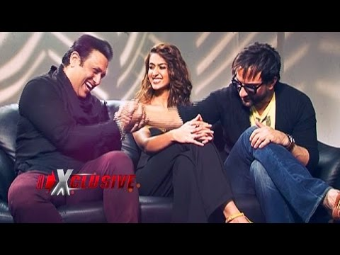 Happy Ending - Saif Ali Khan, Ileana Dcruz and Govinda's EXCLUSIVE interview!