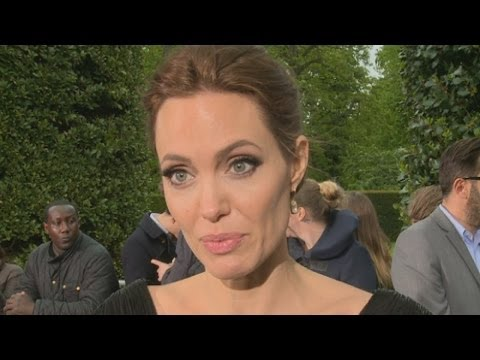 Angelina Jolie interview: Ukraine, Syria and refugees