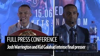 Full final press conference | Things get heated between Warrington and Galahad's camps