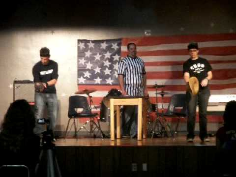 Liberty Middle School Teacher Talent Show (Extreme Olympics)