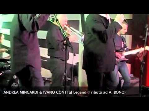 Andrea Mingardi & Ivano Conti al Legend 54 Milano- Tributo A.Bono-