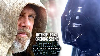 INTENSE The Rise Of Skywalker Opening Scene Leaks! WARNING (Star Wars Episode 9)