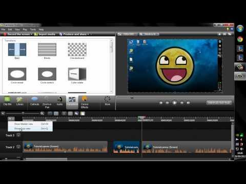 Tutorial Camtasia Studio 8 || Como hacer videos de buena calidad || Tutorial Basico [Parte 1/2]