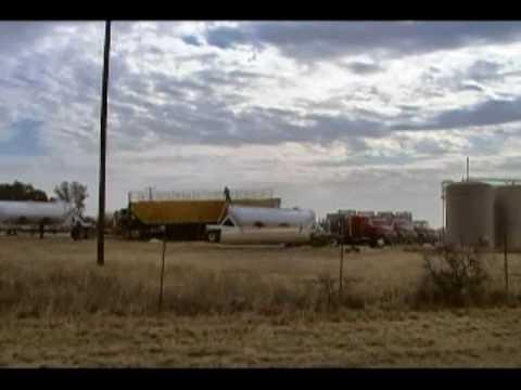 Hydraulic Fracture Barnett Shale Gas Well