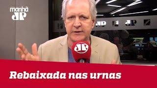 Rebaixada nas urnas, Gleisi segue repetindo seus mantras de 'Lula Livre' | #AugustoNunes