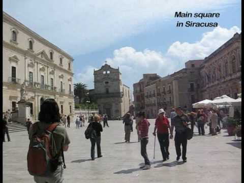 Travel Sicily: Taormina, Siracusa, Mt. Etna