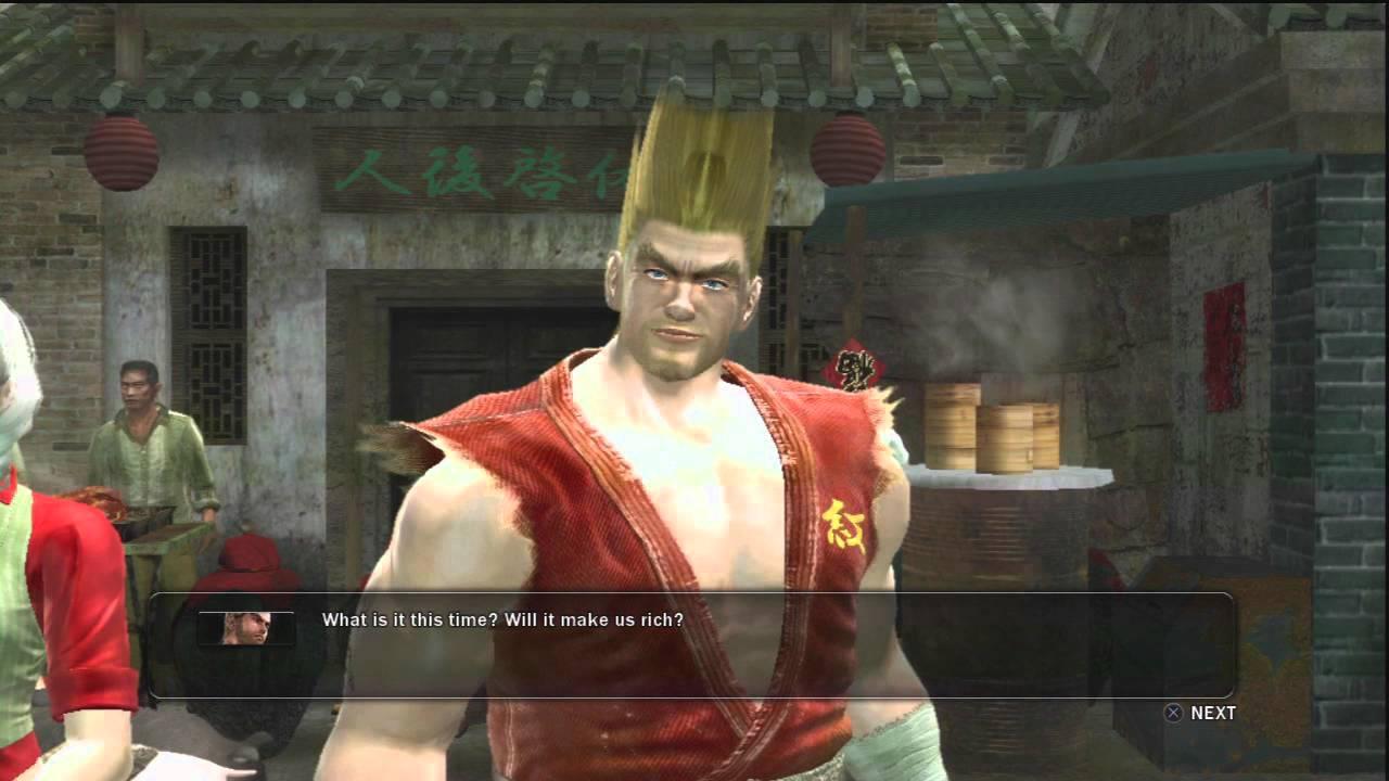 Tekken 6 Scenario Campaign Dialogues: Paul Part 1 - YouTube