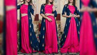 Top Stylish Party Wear Long Dress Design 2019 | Stylish Long Frocks Designs For Girls 2019 | T.F.