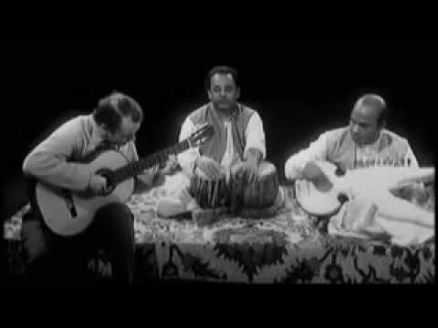 Julian Bream in India (1963) Improvisation with Ali Akbar Khan On Sarod