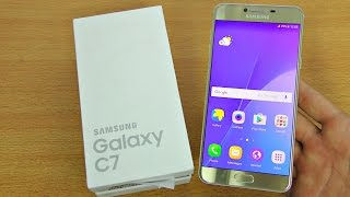 Samsung Galaxy C7 - Unboxing, Setup & First Look! (4K)