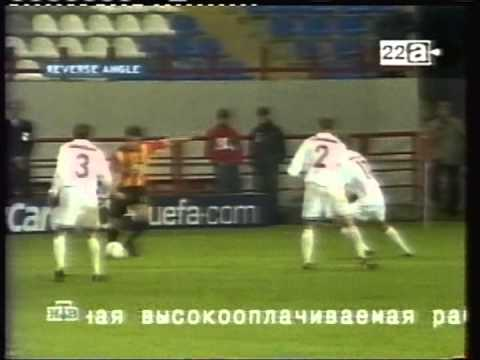 2002 September 18 Lokomotiv Moscow Russia 0 Galatasaray Turkey 2 Champions League