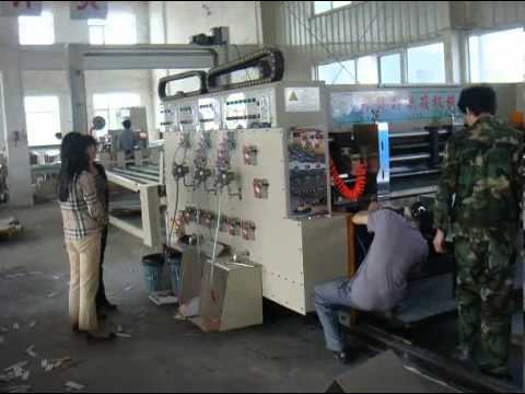 YKS-480 WATER BASE-ON INK PRINTING MACHINE SLOTTER