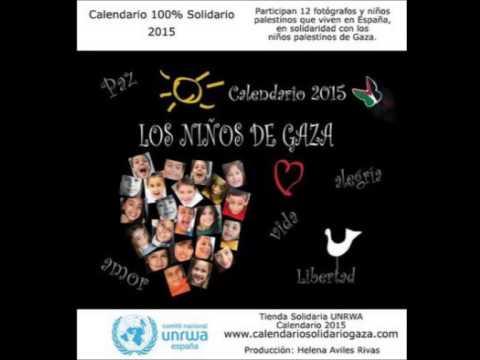 Calendario Solidario Gaza esta en la radio