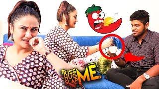 HOT Red Chili Coffee 🌶️ – Sonia Aggarwal Kiss Me 😘 Hug Me 🤗 Slap Me 👊 Game | KHS