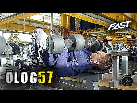 ÖLOG 57 - yläkropan 5x5-treeni