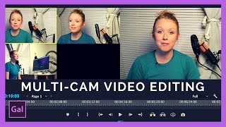Multi-Camera Editing in Adobe Premiere Pro CC tutorial