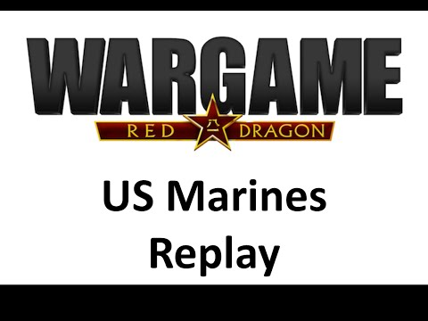 Wargame Red Dragon - US Marine Corps Deck Replay