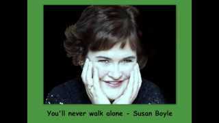 you'll never walk alone - Susan Boyle - Lyrics