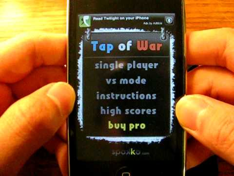 Ipod Touch App Review: Tap of War and Piling Coins
