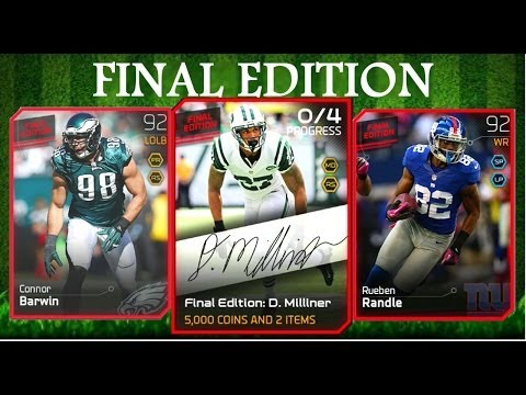 #MUT25   New Final Edition: Dee Milliner & More   Card Review #DartBoardTheory