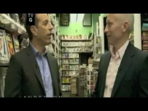 Jerry Seinfeld @ Anderson Cooper, Part 1 of 5