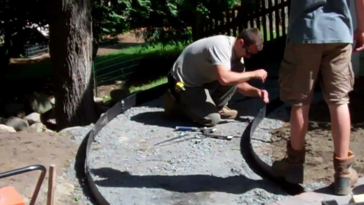 How To Build A Walkway Youtube
