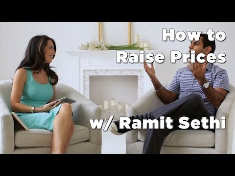 How to Raise Prices w/ Ramit Sethi