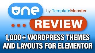 One By Template Monster Review: +1000 Elementor Wordpress Themes, Layouts, And Plugins?!