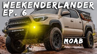 WEEKENDERLANDER EP 6 - SOAKED Tacomas + 4Runners hit MOAB - Swellrunner, Fotornr, LLOD