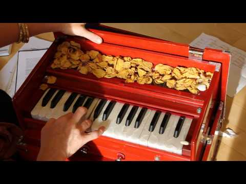 Guru Brahma Guru Vishnu (Guru mantra) played on harmonium (SRYBC...