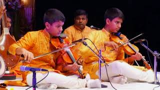 Kartigan and Ramanan Violin Arangetram - Ennakavi Paadinaalum.avi