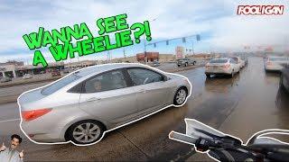 Do Wheelies, Not Drugs | We're Spotlight Magnets!