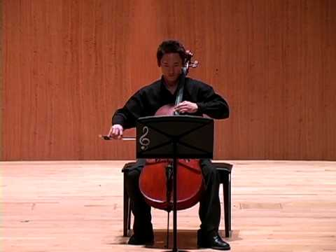 """Seasons"" from Seven Tunes Heard in China - composed by Bright Sheng Jerry Liu, cello Jan 27, 2010 SFCM Caroline H. Hume Concert Hall."