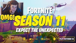 BUGHA Reacts Fortnite Season 11 Trailer