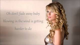 Watch Taylor Swift Never Fade video