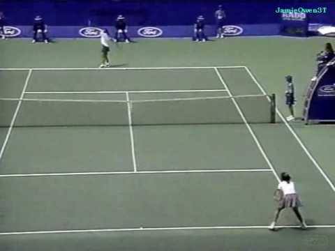 Monica Seles vs Janet Lee 1996 Australian Open First Round Highlights.