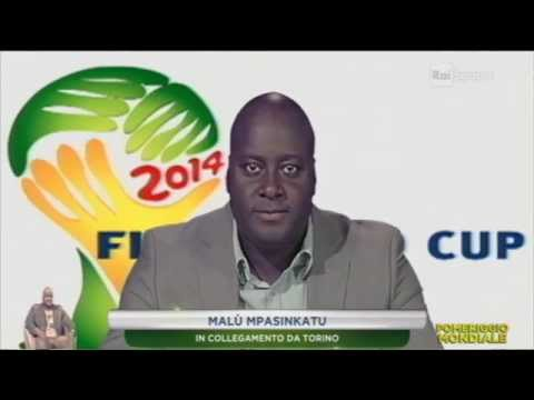 Malu Mpasinkatu Pomeriggio Mondiale Rai Sport Puntata del 01/07/2014