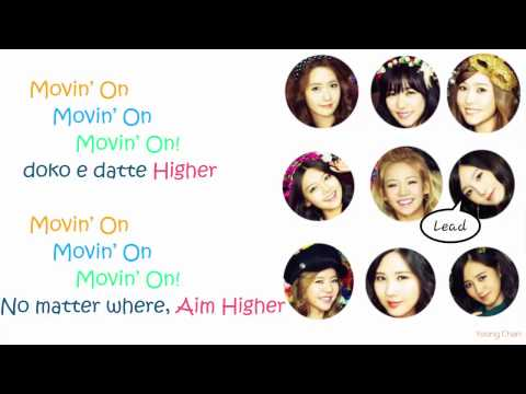 Girls' Generation - Flyers Lyrics